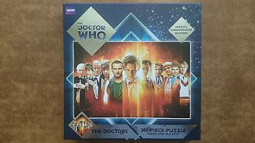 Doctor Who Special Anniversary 300  Piece Jigsaw